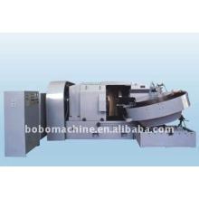 Horizontal steel ball flashing machine