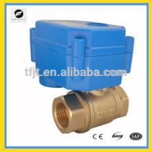 Миниатюрный Клапан двигателя шаровой с 12В, 24В ,110В ,220В для системы сбережений воды ванны