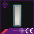 Современная стеклянная база Кристалл светодиодов зеркало с подсветкой и сенсорным экраном
