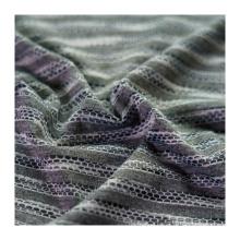 Hot Sales Jacquard Mesh Fabric Polyester Fabric Dye T-shirt Fabric for T-shirt