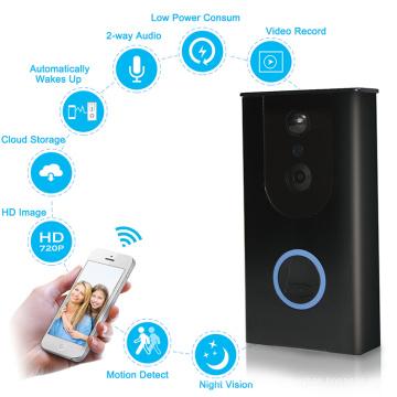 Горячая новый водонепроницаемый видео дверь телефон дверной звонок беспроводной смарт-кольцо