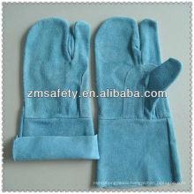 Reinforced three finger welding gloves with no liningJRW43
