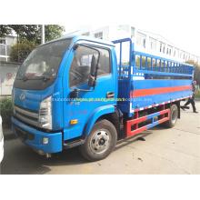 Caminhão de transporte pequeno YUEJIN 4.5T Cylinder