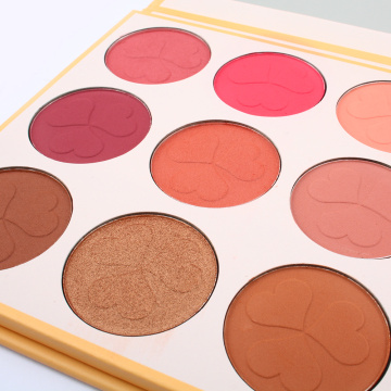 marque privée blush coloré Make Up mat blush