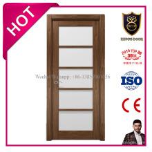 Открытый стиль и твердый Материал MDF Нутряная стеклянная дверь