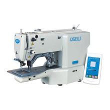 QS-468G Direct drive label machine  lockstitch electronic bartacking pattern design bartack industrial sewing machine
