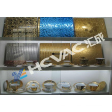 Ceramic Tiles Vacuum Golden/Silver Color Coating Machine/Ceramic Tiles Gold Plating Equipment