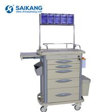 СКР-AT311 АБС хирургического инструмента аварии больницы передвижные медицинские вагонетки покупкы