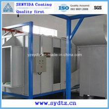 Heißpulverbeschichtungsmaschine / Linie / Ausrüstung Pulverspritzkabine