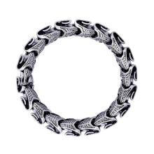 Bijoux en acier inoxydable de style gothique et punk Bracelets de chaîne de poignet