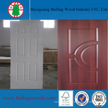 Melamine White Laminated HDF Door Skin with Cheap Price