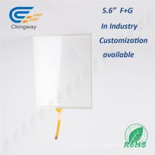 Capteur de plaque tactile Cystatic de 5,6 pouces pour GPS