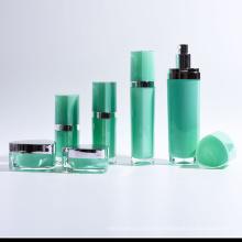 Triangular Shape Acrylic Lotion Bottles and Jars (EF-C10)