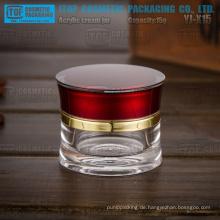 YJ-X15s 15 g besondere schöne attraktive Runde schlanke Taille 15 g Kristall Glas