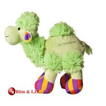 Treffen Sie EN71 und ASTM Standard grün gefüllte Kamel Spielzeug