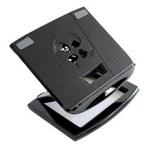 Faltbarer Laptop-Standplatz für 10-17 Zoll-Notizbuch-beweglicher Halter mit Ventilator