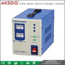 Vente en gros AVR 1000VA Stabilisateur de tension de servomoteur en cuivre pleine maison WenZhou Chine