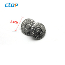 Fashion bag parts accessories press metal leather jacket snap clip snap button fashion buttons magnetic button for bag