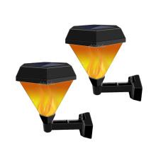 Led Solar Lawn Light waterproof Flickering Flame Outdoor Garden Yard Path Wall Landscape Lamp Lantern LED Light Lamps