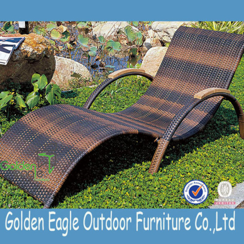 Poolside Rattan Chair with Fashion Design