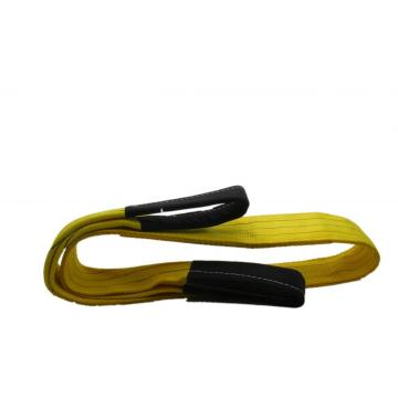Elingue de levage en polyester de force de rupture 3T, couleur jaune