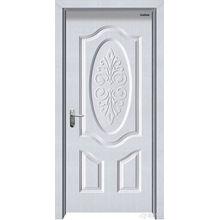 Imitação de madeira maciça Porta de aço Uplift Designsteel Porta de madeira