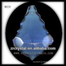 peças de lustre de cristal