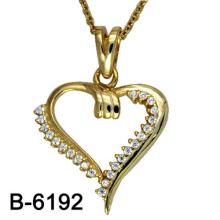 Nuevo diseño de joyería de moda 925 collar de plata de ley colgante