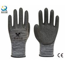 13G Polyester Liner Latex 3/4 beschichtete Arbeitshandschuhe
