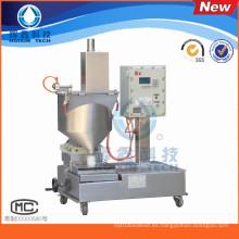 Máquina de llenado de líquidos semiautomática para productos químicos diarios con tapado