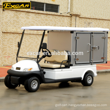 Aluminum cargo box for 2 Seats electric hotel buggy car housekeeping car