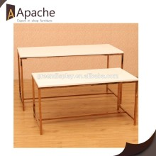 Reasonable & acceptable price Wooden Display Table for 2015