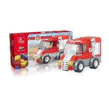 Bombeiros Série Designer Fire Engine Rescue Block Toys