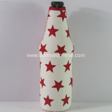 Hot Sale Portable Star Neoprene Beer Coolers