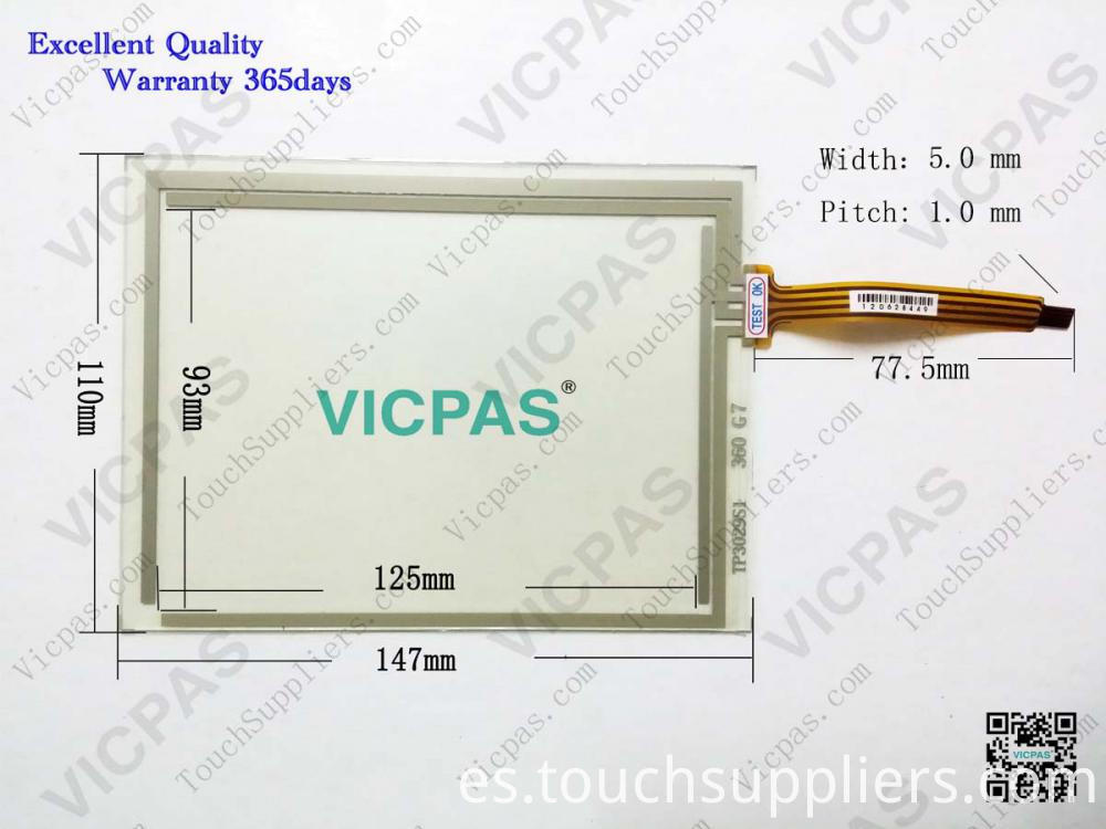 Touch screen 6AV6545-0BC15-2AX0 TP170B 6AV6545-0BC15-2AX0 TP170B Touch screen