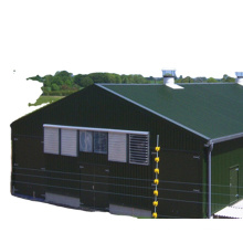 Easy installation steel structure building prefab large free range broiler chicken poultry farm house