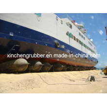 Saco de ar de levantamento usado barco ou navio
