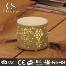 Lumière de table rechargeable intérieure moderne sculptée a mené la lampe de table