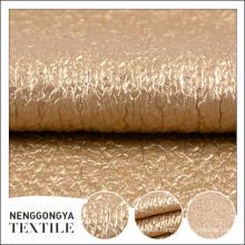 Top qualité Différents types de beau tissu enduit de PU de chenille