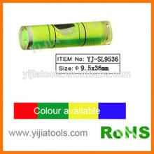 Nível de bolha cilíndrica com ROHS padrão YJ-SL9536