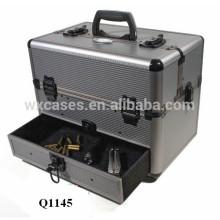 strong aluminum shotgun gun case with custom foam insert&drawer manufacturer