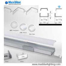 Boîtier 1506 en aluminium avec couvercle pour éclairage LED