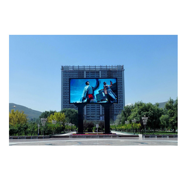 Perfect Service Column P8 Outdoor Led Display 1