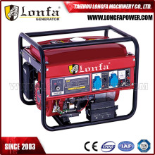 6kVA 6kv Electric Gasoline Petrol Power Generator