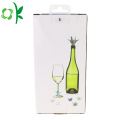 Wine Glass Silicone Charms Tag Markers