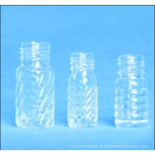 Botella cosmética vacía