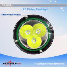 Jexree linterna táctica / linterna de policía / linterna LED