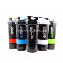 BPA Free Wholesale 304 Steel Mixing Ball Smart Custom Logo Gym Protein Shaker Bottle