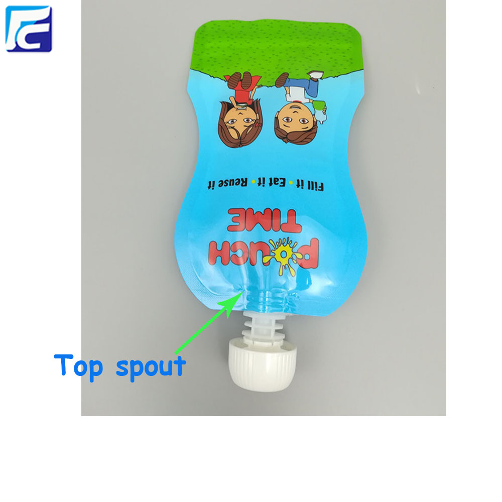 baby food spout pouch