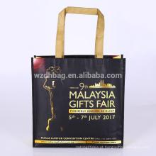 Mantimento não tecido laminado por atacado feito sob encomenda da sacola da compra de Eco Reusável para a promoção, supermercado